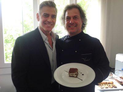 Clooney con Tiramisù